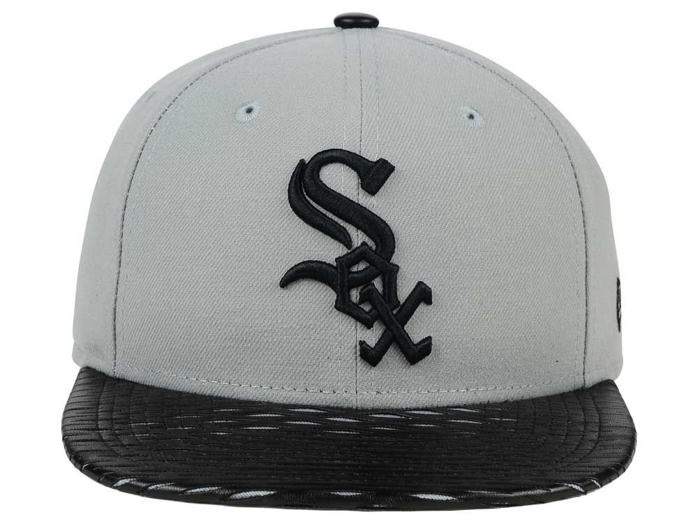 best website a88ed 16a0e ... mlb heather trucker 9fifty snapback cap 68c1a ba15b  germany chicago  white sox new era leather rip snapback e2d9b 9249e